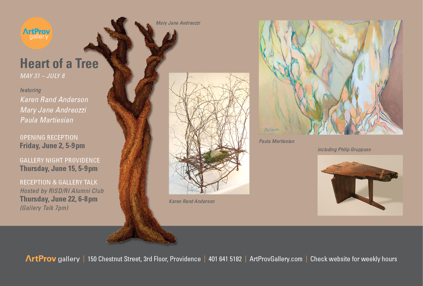 Heart of a Tree exhibition